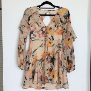 BCBG Generation Floral Dress